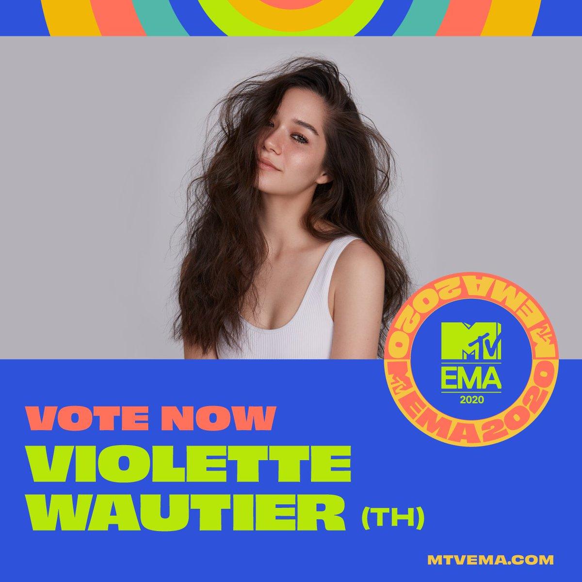 ✅ วิโอเลต วอเทียร์ @violettewautier ได้รับเลือกเป็นตัวแทนจากประเทศไทย เข้าร่วมชิงสาขานักร้องหญิงยอดเยี่ยม #BestSoutheastAsiaAct กับสุดยอด @mtvema  💪 ช่วยกันแสดงพลัง โหวตให้นักร้องสาวของเรากัน! กดโหวดเลย: