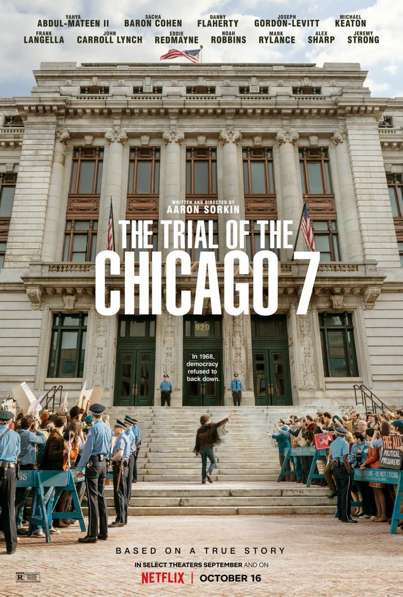 59. El juicio de los 7 de Chicago (2020) https://t.co/kKVrR8QOkA