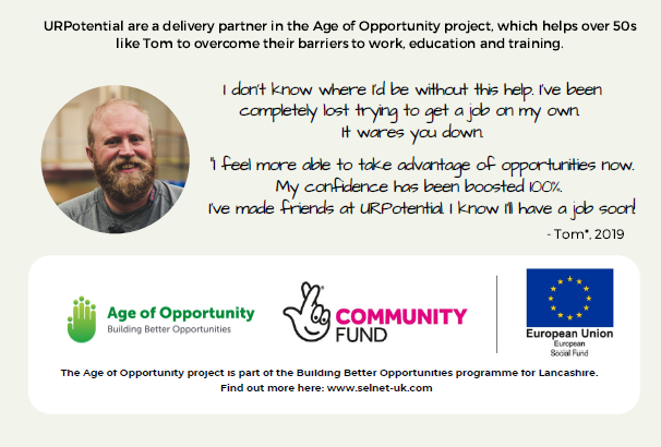 Check out the support available across #Lancashire to build confidence, employability and support into work - read about Tom's story and the positive impact👇 #skillsforwork #upskillinglancashire