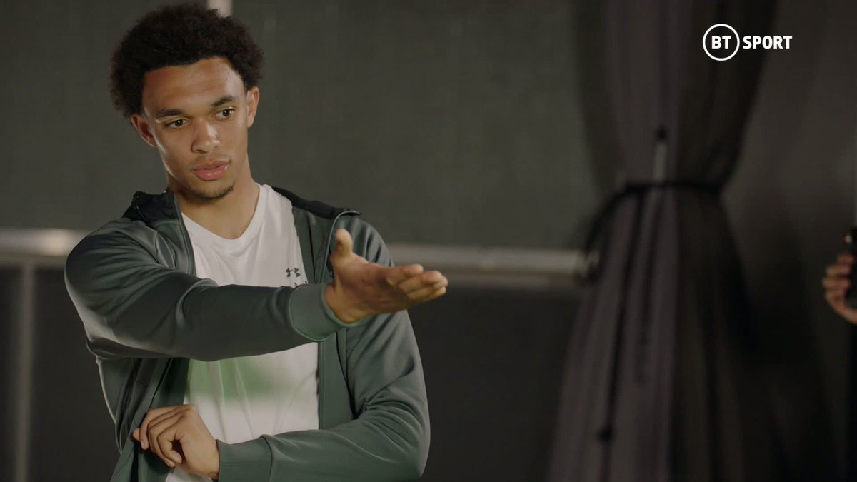 For him to turn, see it and adapt so quick... Its just as if its meant to be. The both of you just connected at that one moment. @TrentAA and @andrewrobertso5 talk @rioferdy5 through 𝙩𝙝𝙖𝙩 Divock Origi goal against Barcelona... #BetweenTheLines