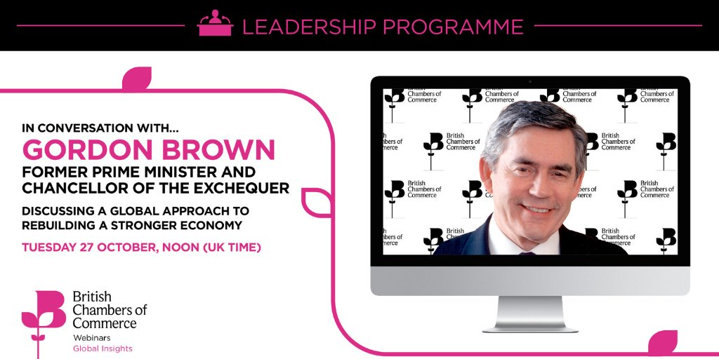 test Twitter Media - Join former PM Gordon Brown and Dr Adam Marshall of the British Chambers of Commerce as they talk about the Restart, Rebuild and Renew campaign and what the UK and global markets need to do to rebuild the economy. Tomorrow, noon-1pm. https://t.co/KDSeJdvVpF https://t.co/4Y2u8YkccM