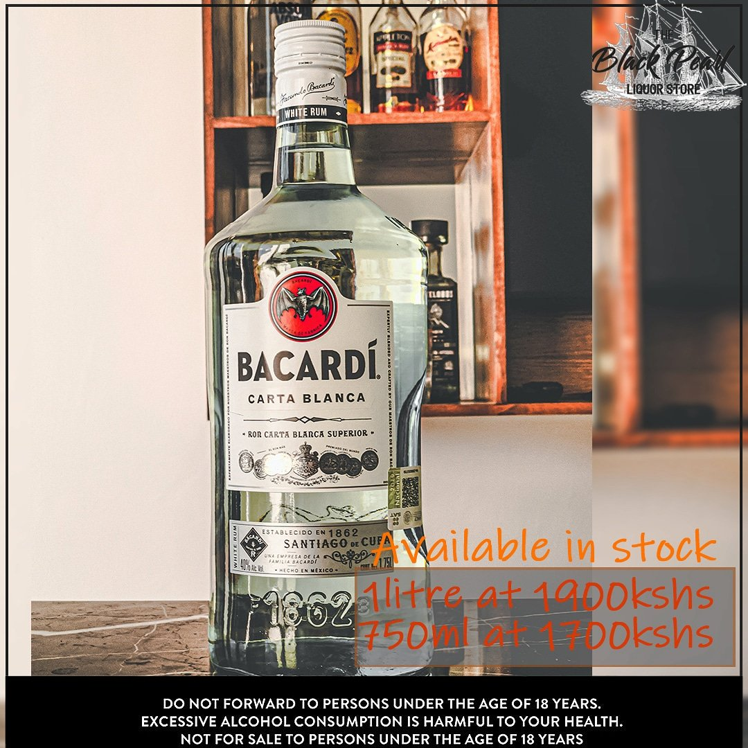 Rum is liquid sunshine 🤠  🏍 Free delivery in and around Kitengela  📲 Call 0795 225351 for delivery or enquiries  ⌚ Opening hours extended to 10pm   #kitengela #kitengelafinest #freedelivery #bacardi #rum https://t.co/ucE7LBdAWi