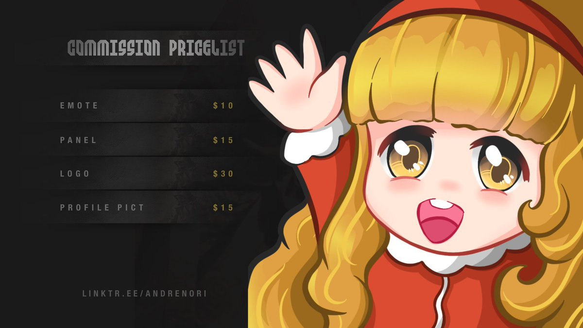 Commission pricelist #twitch #twitchaffiliate #twitchstream #twitchstreamer #twitchstreams #twitchemote #twitchemotes #twitchemoteartist #twitchemotesartist #discord https://t.co/eTP09WAW0h