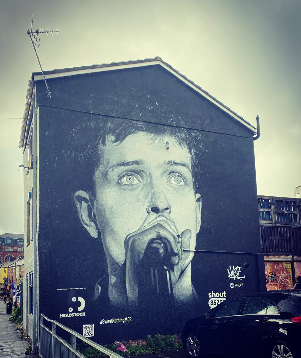 Today we wandered round the Northern Quarter in the rain and found the new murals.