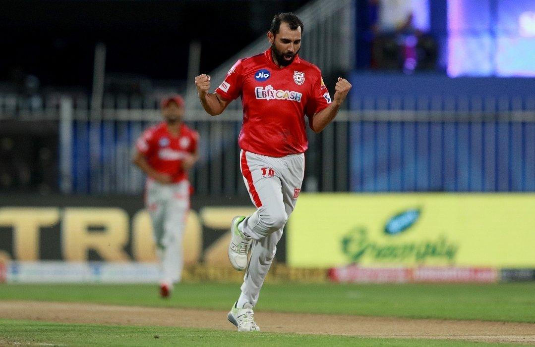 @MdShami11 ❤️❤️❤️💪🏻💪🏻 #mshami11 😍  #IPL2020 #KXIPvKKR