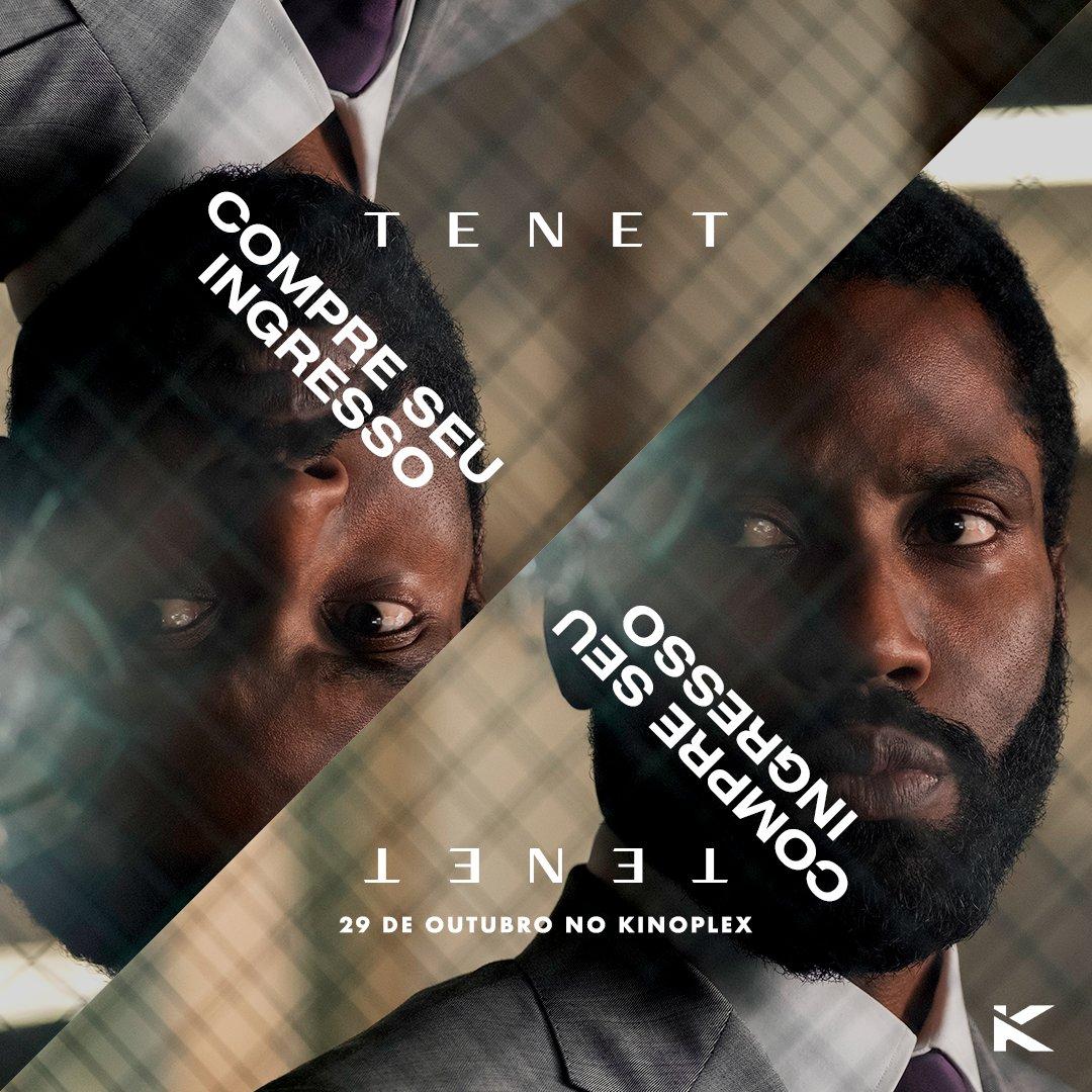 Falta pouco. #Tenet chega ao Kinoplex na próxima quinta-feira (29) e você já pode garantir seu ingresso na pré-venda: https://t.co/9HrTRG1BRl https://t.co/feSVfAt6W7