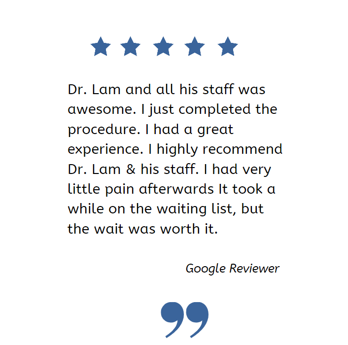 Thank you so much to our hair transplant patient for his awesome review!  If you need a consult with Dr. Lam please contact by ⠀ ⠀ 📞972-312-8105 ⠀ ⠀⠀ ⠀  #review #patientreview #hairtransplant #hairtransplantsurgery #hairlossdallas #drsamalam #hairtx https://t.co/Xv2E1I1E9b