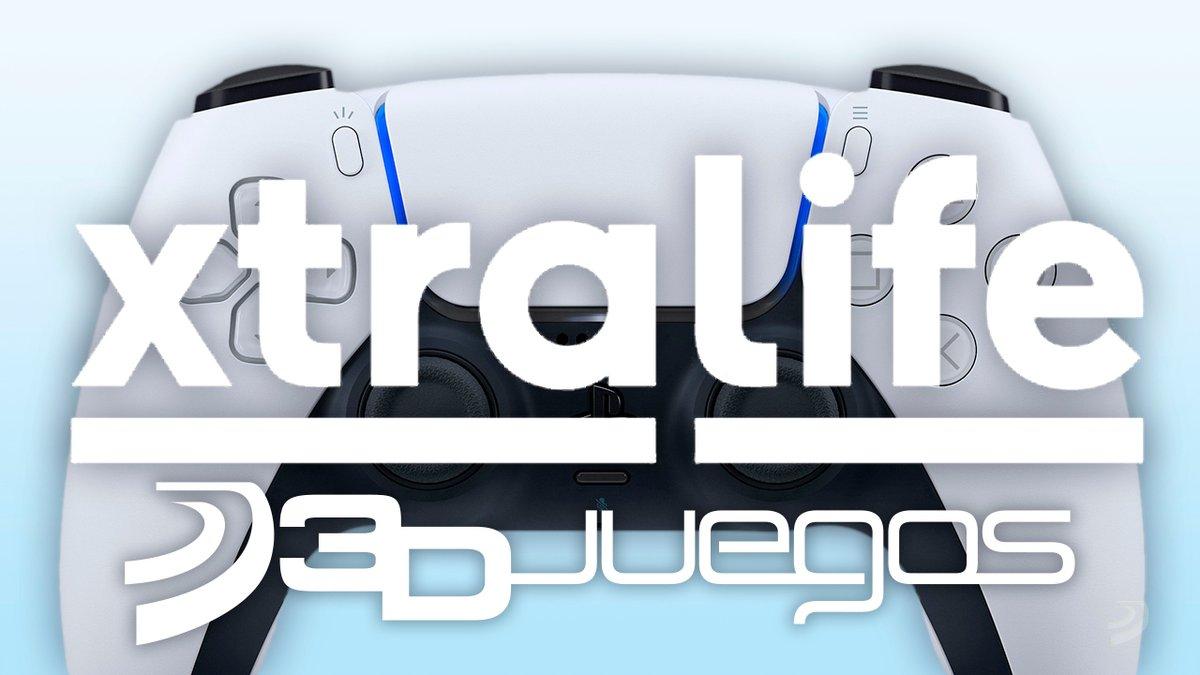🎁 ¡Sorteamos una PlayStation 5! 🎁  Para participar:  1⃣  Sigue a @3djuegos y a @xtralife_es 2⃣  Haz RT y usa #PS5con3DJuegosxtralife para decirnos con qué juego la estrenarías. https://t.co/ZQ6qVKH9zq