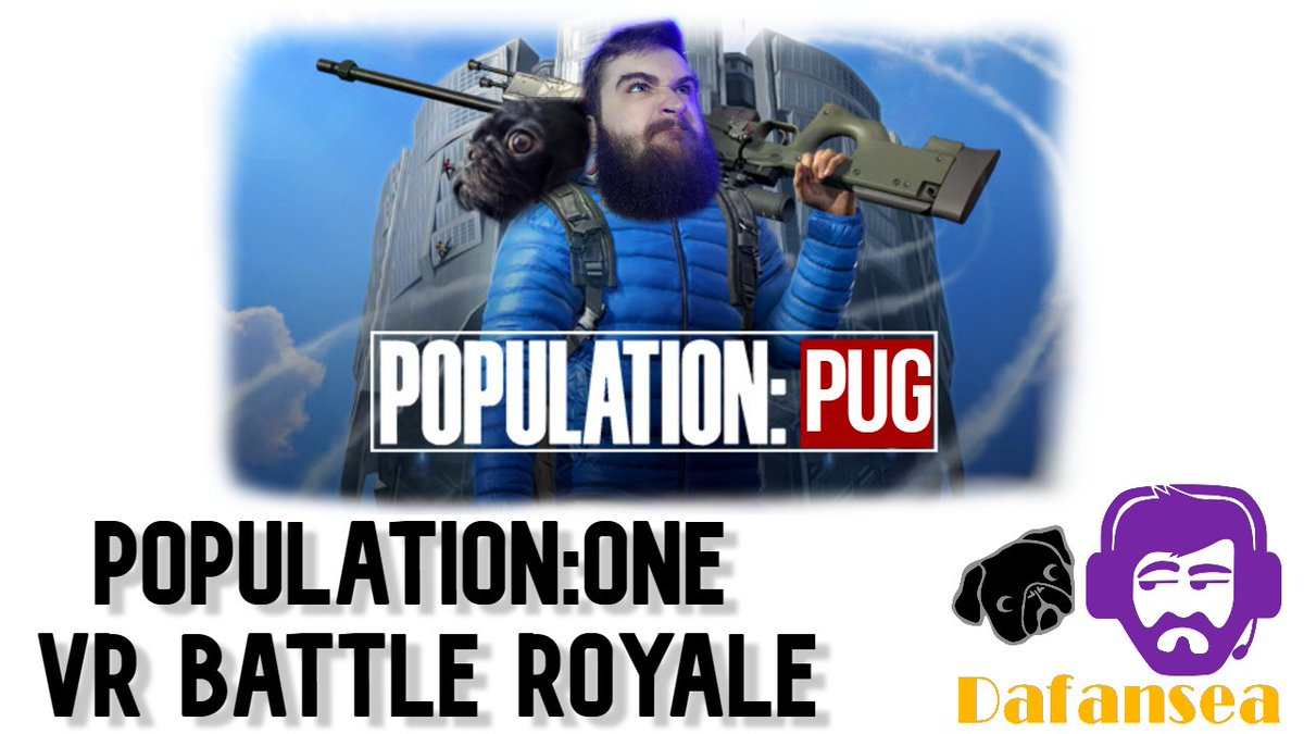 Alright I will try it... Shit it isn't bad! // Squadrons Later // Going live now! // VR Battle Royale! #battleroyale #VR #populationone #livestreaming #gaming // https://t.co/Uf2CxBhboW https://t.co/F8CQBY21iE