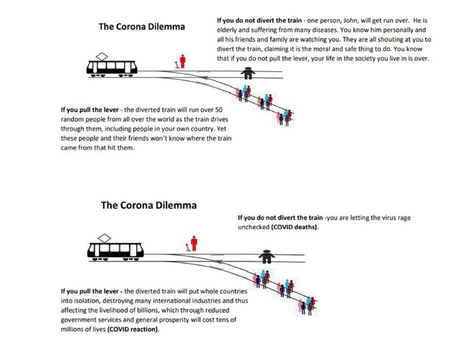 BRILLIANT, comprehensive in depth #coronacrisis dilemma analysis! MUST READ #covid19 #pandemic #healthcare #society #medicine #vaccination #vaccine #mortality #vaccine #immunity #herdimmunity #economy #collateraldamage   - pls share again! https://t.co/qpl11lrlfy https://t.co/OmIS0UfEmF