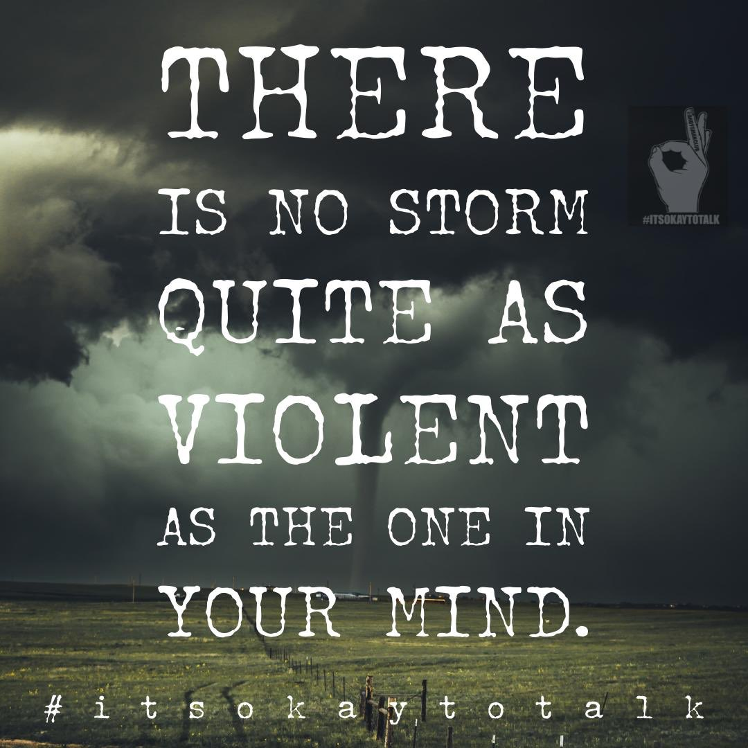 The storm quietens when you talk... 👌🏽