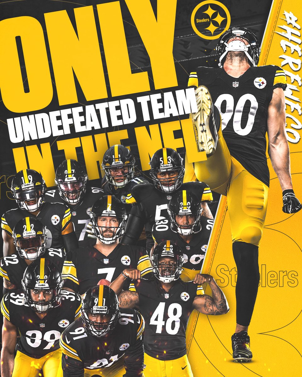 List of undefeated teams in the NFL: 1. Us #HereWeGo