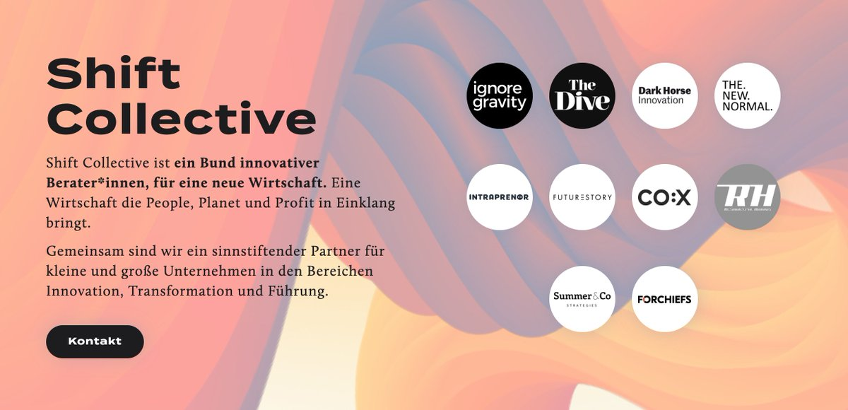 Interesting to see some of the new work pioneers in Germany now gathering in one collective. Keep on rocking @SummerCo_Berlin,@WeAreTheDive, @darkhorseberlin and others! https://t.co/0Ch4NoZyTW #NewWork #Collective https://t.co/UDXct5AdcV