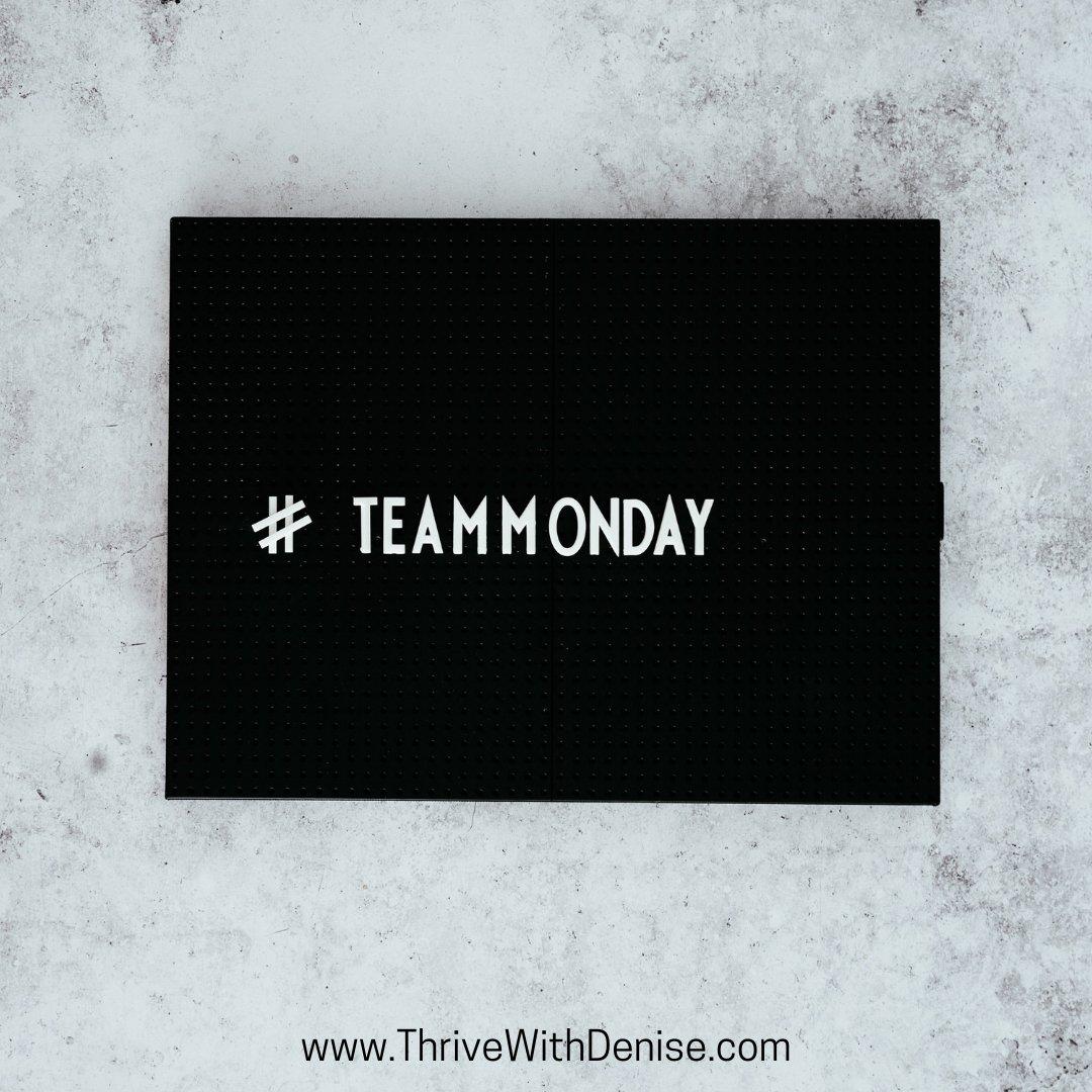 Let's do this!  #MotivationalMonday #MondayMotivation #GoodMorningMondays #StartOfTheWeek #Thrive #SelfDevelopment #Empowerment #WomenEmpowerment  #Leadership #Coaching #CoachDenise #ThriveWithDenise #DeniseWilliams https://t.co/LpaXxfRuEF