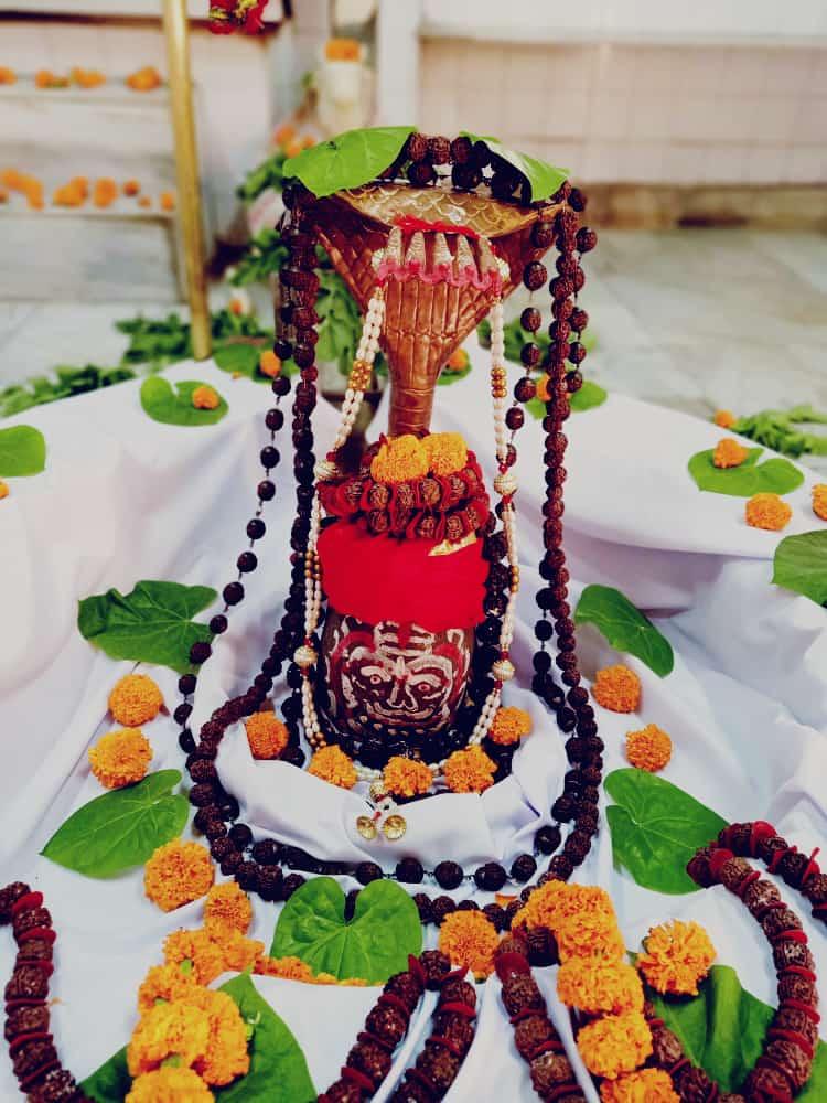 हर हर महादेव  आज का श्रृंगार  #HarHarMahadev #om .#namashivaya  #har #har  #mahadev_har  #ambikadevi_ji  #derababamangalnath #ambikadevimandir #kharar  #Mohali #punjab  #YogiRamnath #myogiramnath https://t.co/mplc4gpbpu