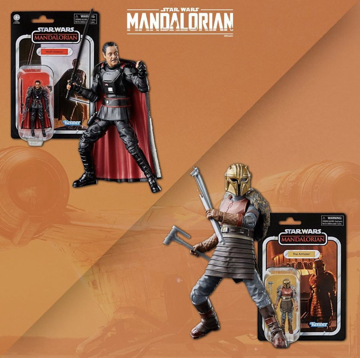 """PREORDER CONFIRMED Star Wars Vintage Collection THE MANDALORIAN ARMORER 3.75"""""""