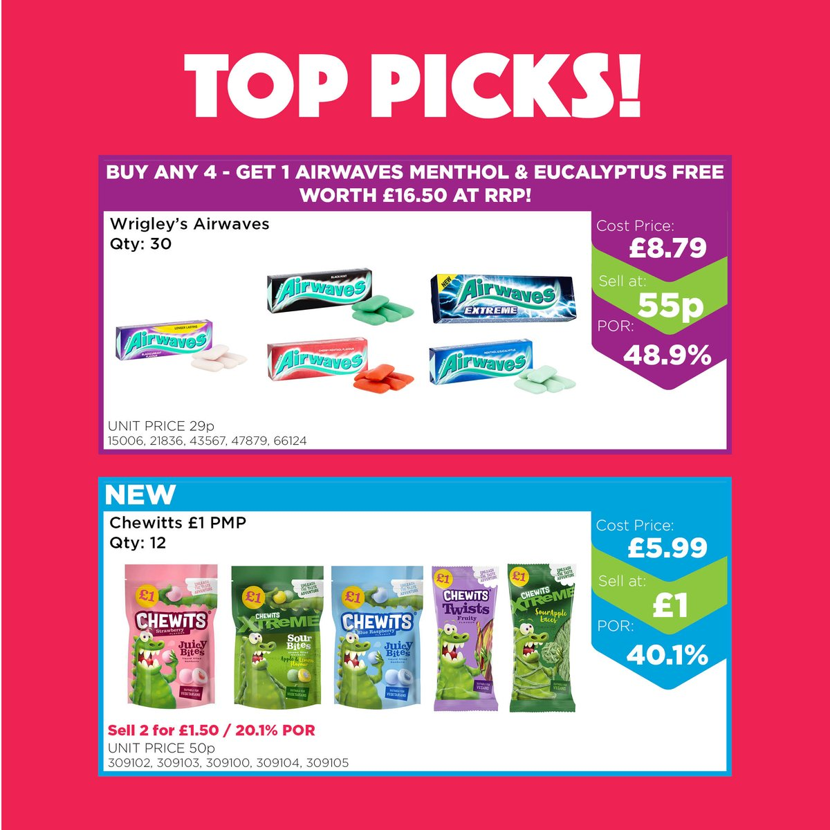 Rest assured all 14 of our cash and carry stores remain open as usual under normal opening hours! 🛒  Shop in-store and online today and check out our NEW SWEET DEALS at https://t.co/HInNF1Gmxf   Here's a peak at a few top offers available! 👀 https://t.co/Srldkpfybf