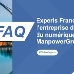 Image for the Tweet beginning: #FAQExperis  Question du jour :
