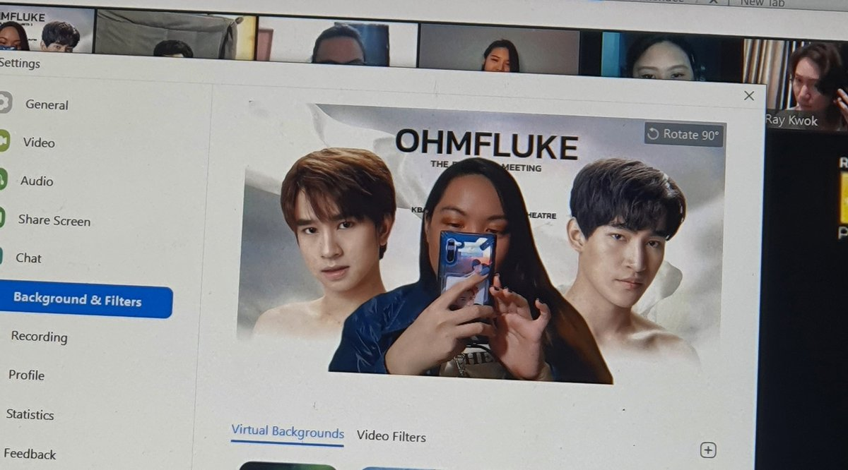 My virtual background is ready! 😂😂😂 excited for the date night with @FlukeNatouch @ohmthitiwat 🥰💙  Thank you again to @RaikantopeniPHL for this event!  #UWMTOhmFluke #RLXExclusiveOhmFluke https://t.co/dZsbYVlaKw