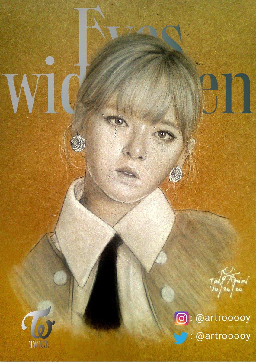 👁Yoo Jeongyeon👁 Eyes Wide Open fan art series 9/9 Drawn using Charcoal White on A4  Craft Paper  #twice  #jeongyeon #fanart #TwiceFanart  #once #onceph #ICANTSTOPME  #eyeswideopen #artontwitter #art #artph #TWICE_5thanniversary  #TWICE_CANT_STOP_US  #JYP_이본부_일처리_똑바로해 https://t.co/bfoCHMoRZF