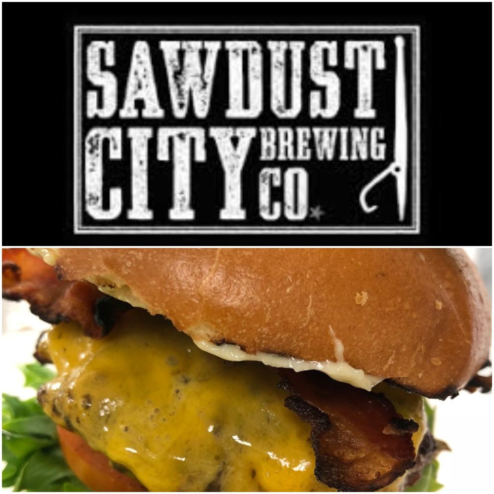#beerandaburger #mondays $16 #homemade #saucy #juicy #ontariobeef #springhillfarms #lettuce #tomatoes #garlicmayo #handcutfries #craftbeer #sawdustcitybrewing #lager #ipa #seeyousoon #friendsandfamily #workingdudes #localsupport😍 https://t.co/JSI6om6rbS
