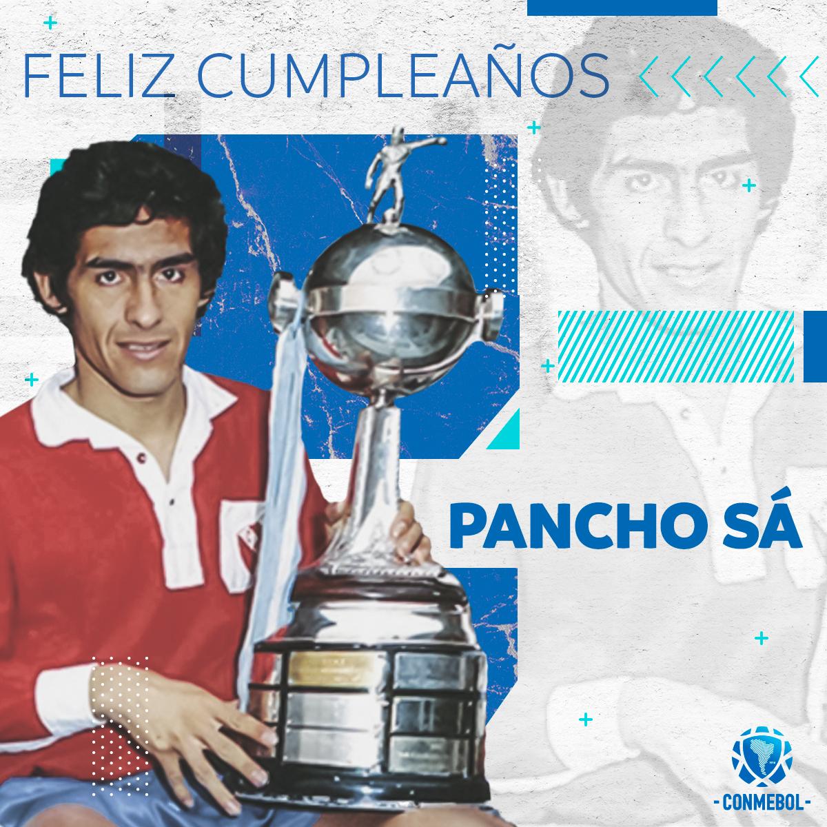 ¡El máximo ganador de la @Libertadores como jugador está de cumpleaños! ⚽️🏆  ⭐️Símbolo de toda una generación e ídolo de @Independiente y @BocaJrsOficial, Francisco Sá alcanzó seis veces la #GloriaEterna ⭐️  ¡Feliz cumpleaños, 'Pancho' !🎂🥳 https://t.co/VsMyDuAh2T