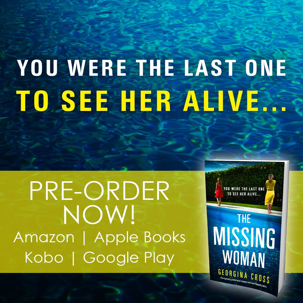 💥HERE IT IS! Cover reveal and book title for... drum roll... THE MISSING WOMAN! Fantastic.💥  Pre-order is available now! Amazon: https://t.co/jBtbtCsE26  Apple: https://t.co/Mlp8xfuB7s  Kobo: https://t.co/9q1JVHZjtI  Google: https://t.co/OjrOjEsAEX  #TheMissingWoman https://t.co/HdSt8MsG8y
