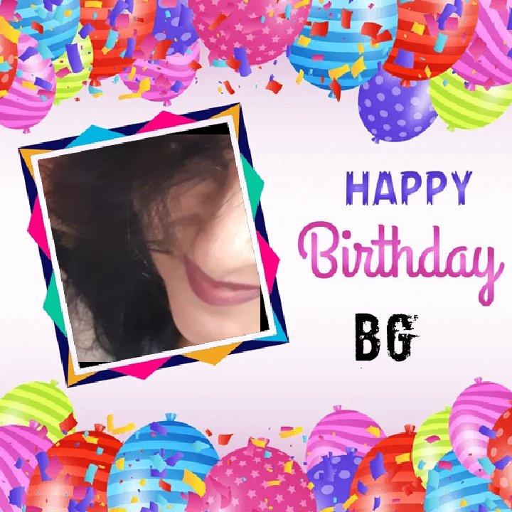 #NewProfilePic  #BG  @bananighosh  Happy Birthday 🎈🎊🎉🎂 to you dear 🌹🌹🤗💜 https://t.co/8jZ1FSfHno