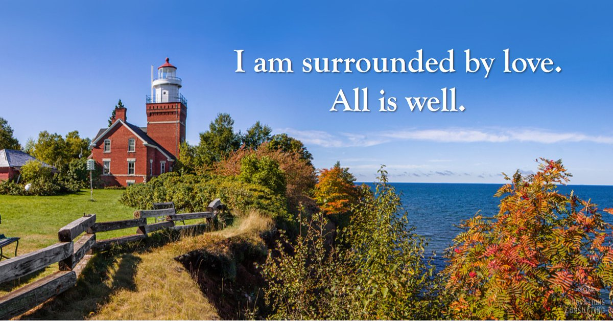 Affirmation for Monday - I am surrounded by love.  All is well.  #affirmations #dailyaffirmations #positiveaffirmations   https://t.co/7YVSlnBfSA https://t.co/TKBuhBfPBa