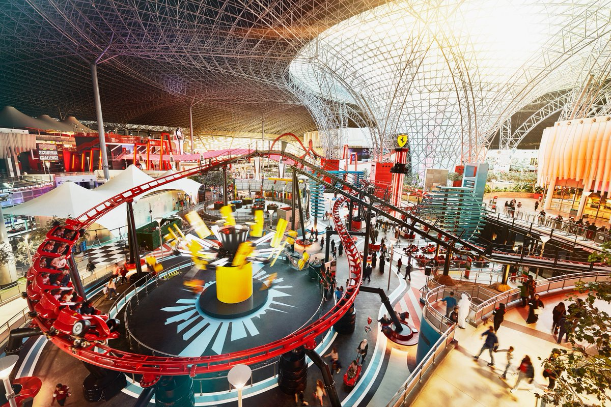 #DYK that @FerrariWorldAD now offers a whole lot of fun for the entire family? The Family Zone attractions are designed as miniature versions of the theme park's most iconic rides - so now, your kids can enjoy an action-packed adventure 🎢 #InAbuDhabi! #StaySafe https://t.co/dJpsH19FTb