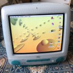 Image for the Tweet beginning: What a beauty! #imac #g3imac