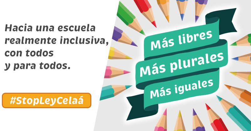 """@concertados_edu @MasPlurales .@FCAPA_Valencia se suma a la campaña """"Más plurales, Más libres, Más iguales"""". La nueva #LOMLOE pretende acabar con esa pluralidad y es por eso que decimos: #StopLeyCelaa #MasPlurales🧡@masplurales https://t.co/d2NgowEKAg"""