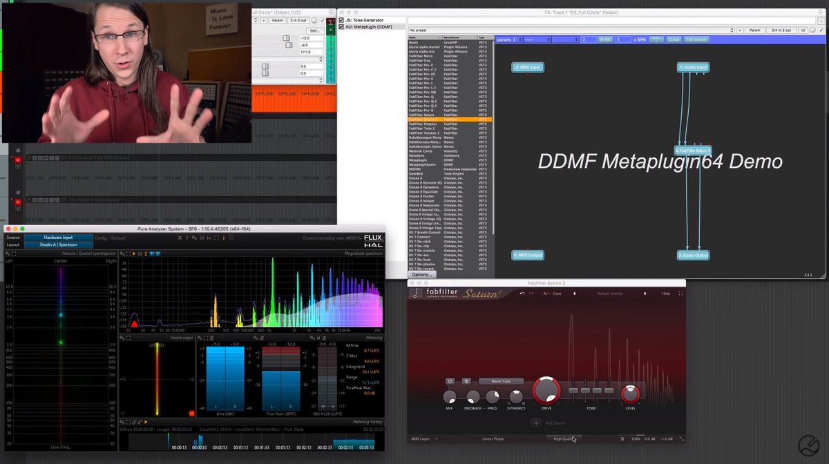 #Tutorial  Snakeoil | #DDMF - #Metaplugin https://t.co/W1ESXzgPJw  White Sea Studio @WhiteSeaStudio #Analog #AnalogSound #Distortion #Fabfilter #Oversampling #VSTPlugin https://t.co/2KL7JOKeQl