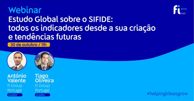 Na próxima sexta-feira, 30 de outubro, às 11h António Valente e Tiago Oliveira vão apresenta....