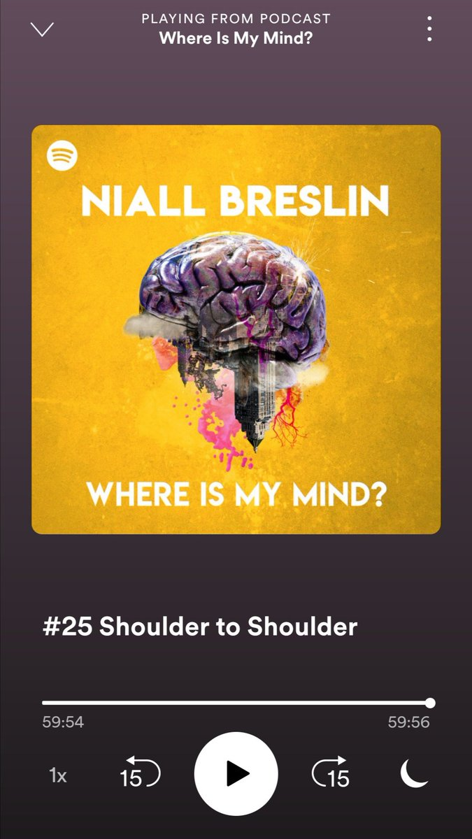 I have just sat in my car the last hour listening to this honest open and passionate conversation around mental ill health. If you only listen to one podcast this week make it this one. Also @nbrez I'm blaming you on my melted ice-cream in the car boot 🙈 #MentalHealthAwareness https://t.co/KoVwk3bNYW