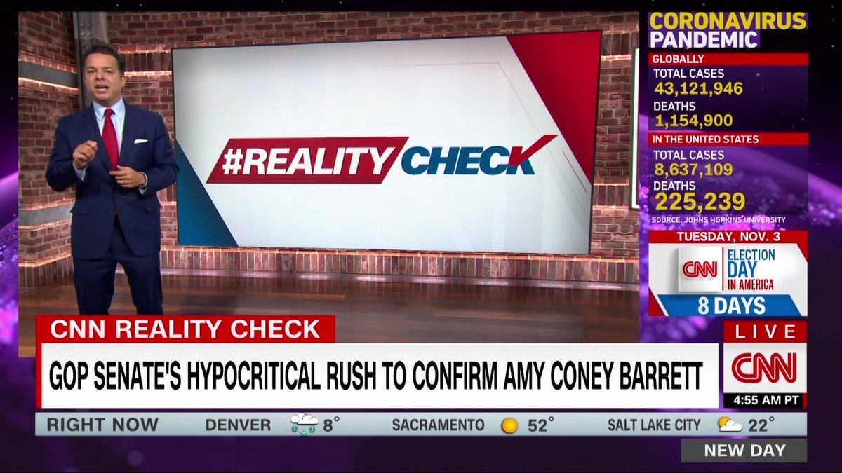 """There's been a lot of campaign debate about """"packing the court"""" as Republicans rush to put Judge Amy Coney Barret on the Supreme Court. But Republicans have expanded the Supreme Court in states like Arizona and Georgia, says @JohnAvlon. #RealityCheck"""