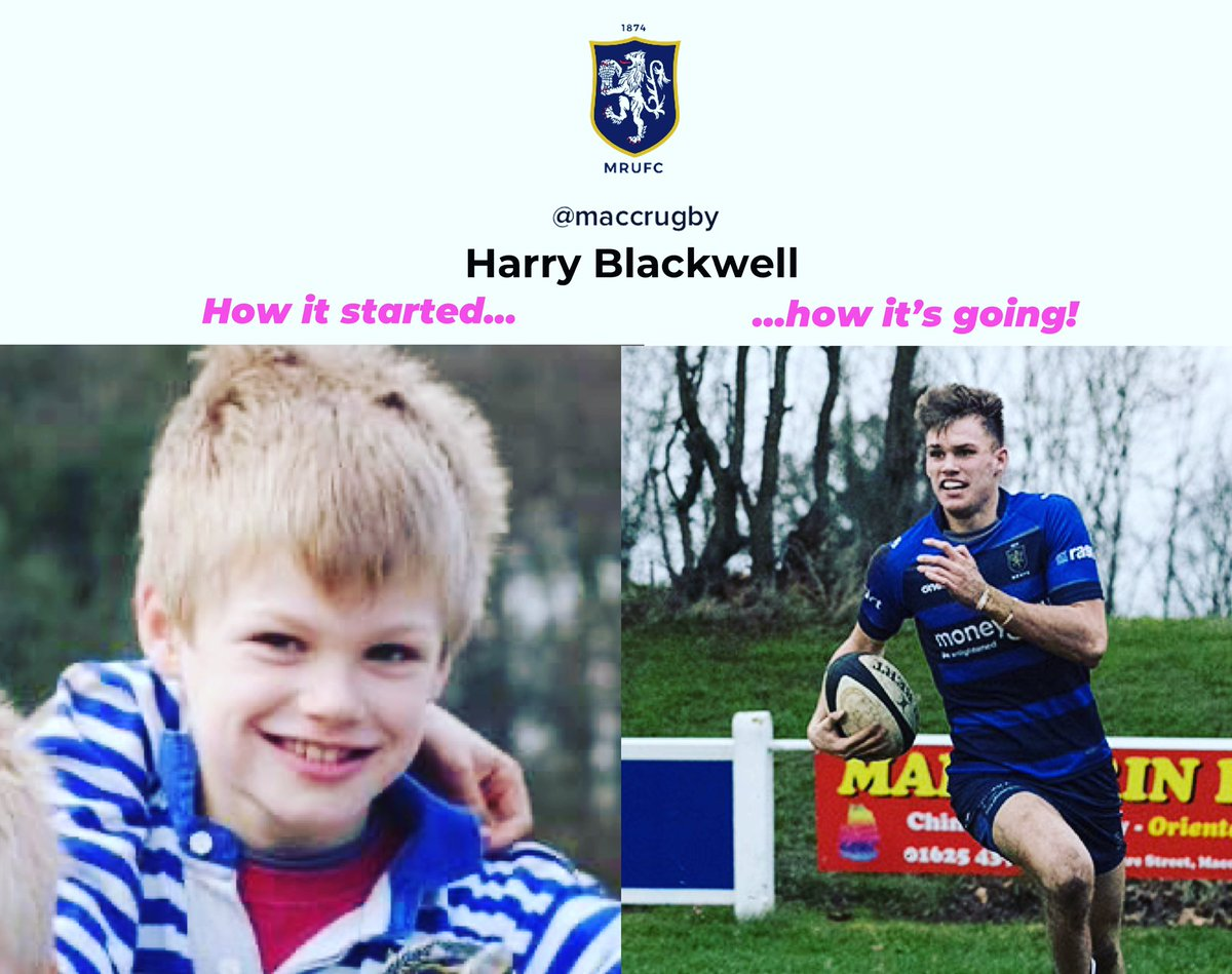 test Twitter Media - Harry Blackwell is our latest #howitstartedvshowitsgoing star! #maccrugby https://t.co/VKX4ISWr0S