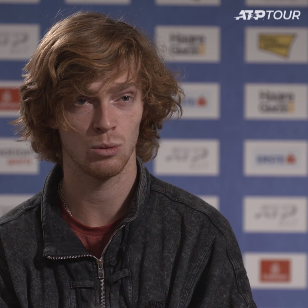 He's in pole position for one of the last two singles places at the #NittoATPFinals 👊  🇷🇺 @AndreyRublev97 on the prospect of reaching London 🗣 https://t.co/SgyQtBnO1N