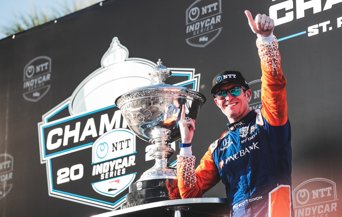 Monday's aren't so bad after a championship Sunday.   #MondayMotivation | @scottdixon9 https://t.co/ncvNBpPXJK