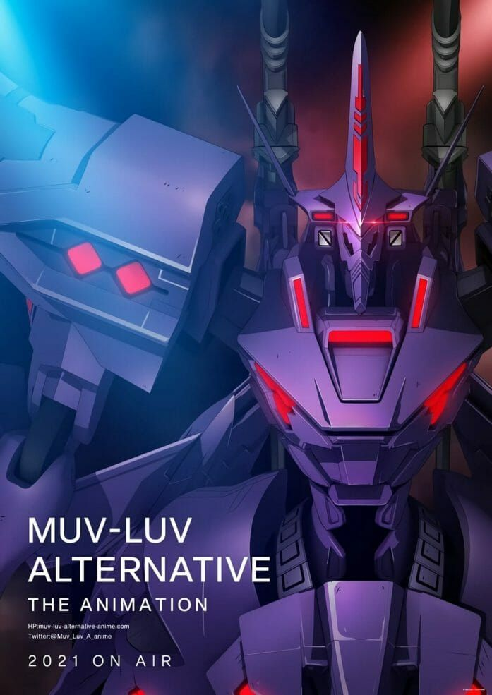 Muv-Luv is a mecha anime which streams on Crunchyroll outside Japan as Total Eclipse and Schwarzes Marken. https://t.co/APnDVc25PT https://t.co/ZCml1PSErw