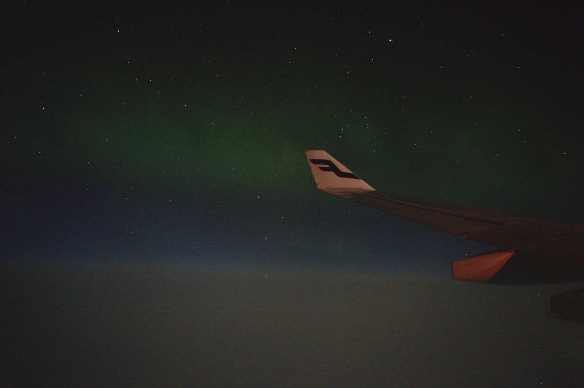 ✈︎ #finnair #フィンランド #飛行機 #オーロラ #aurora #visitfinland https://t.co/Rr9V4dVSIJ