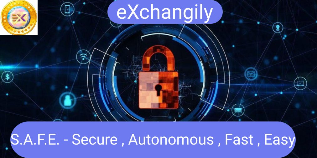 Have you ever imagine trading on a fully decentralized exchange without any hassle of how secure your funds is, eXchangily is the right exchange for you, your funds Security is guaranteed. #EXG $EXG #FAB #Exchanges #DEX #decentralized   Visit website https://t.co/FO4QDalRXB https://t.co/iLs74ApPb4