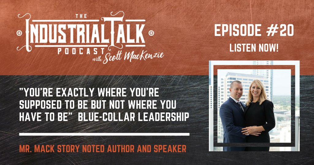 Mack Story shares 3-Successful Blue Collar Leadership Principles taking your career to the next level! Listen: https://t.co/jUt6uKhaBE #podcasting #industrialtalk https://t.co/9tmrFpNORb