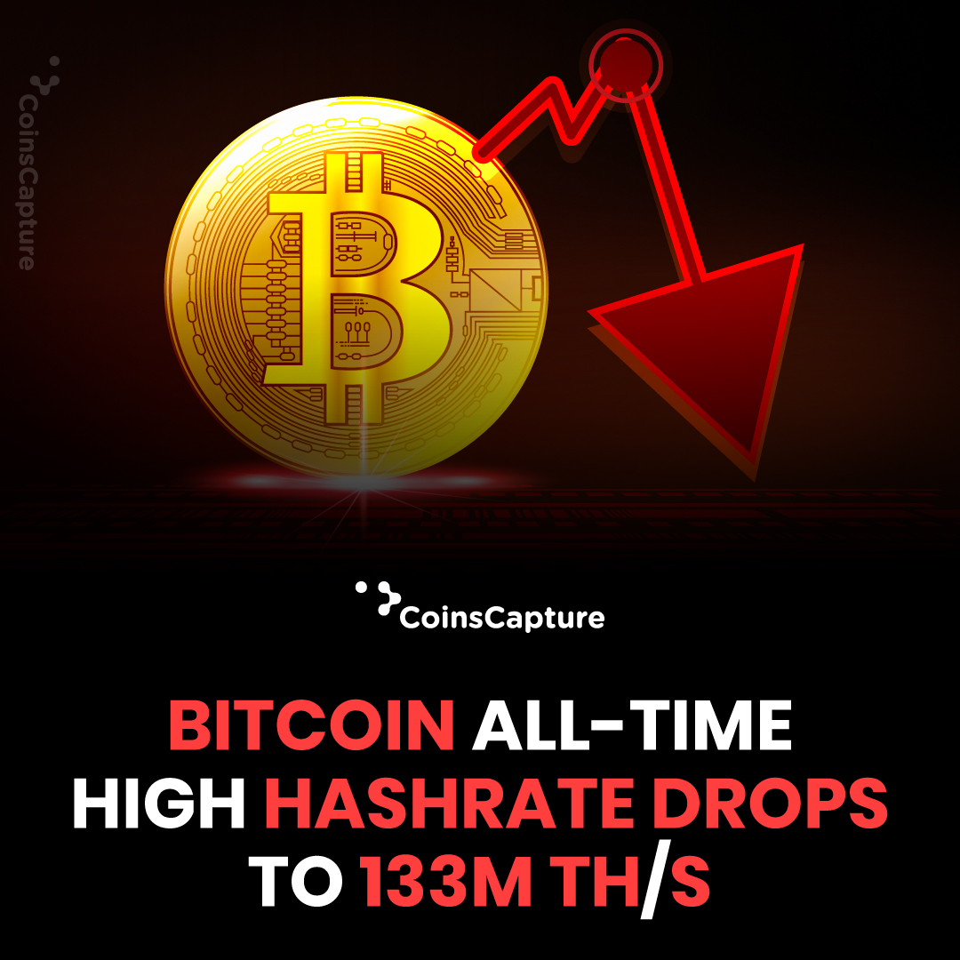 News of the day: Bitcoin All-Time High Hashrate Drops To 133M TH/S Read more: https://t.co/SuWtpLCImG  #Bitcoin #bitcoinnews #cryptocurrency #hashrate #bitcoinprice #latestnews #miners #network  #coinmarketcap #exchanges https://t.co/LZHk8OWock