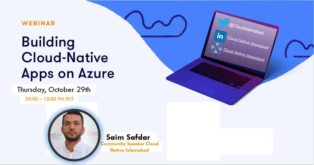 You can RUN/BUILD/DEPLOY cloud native apps on everywhere. #desktop #onprem #cloud This Thursday we will be exploring #cloudnative apps on #Azure Event is free for anyone from everywhere to join community.cncf.io/islamabad/ #cncf #comunity #cloudnative #devops #containers #k8s