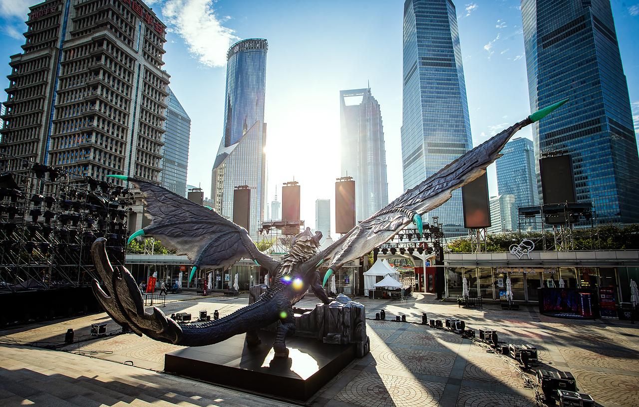 Dragão Ancião em Xangai