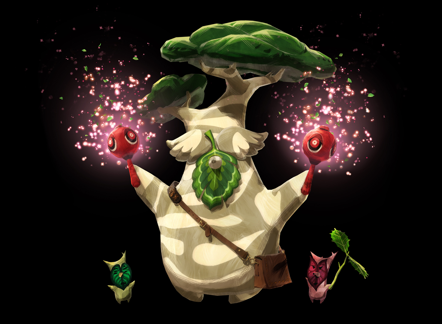 Nintendo Of America On Twitter Shalaka The Musician Of Korok Forest Who Loves To Dance Hestu Returns In Hyrulewarriors Age Of Calamity Zelda Https T Co 4udgtpprmg