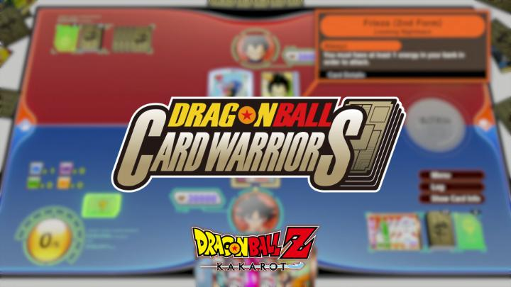 BANDAINAMCOUS - The FREE update for #DBZKakarot arrives tomorrow!  WATCH our new trailer to learn about the new DRAGON BALL CARD WARRIORS game!  Are you ready to build your deck? 🐲