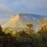 Image for the Tweet beginning: Ben Bulben in Autumn from