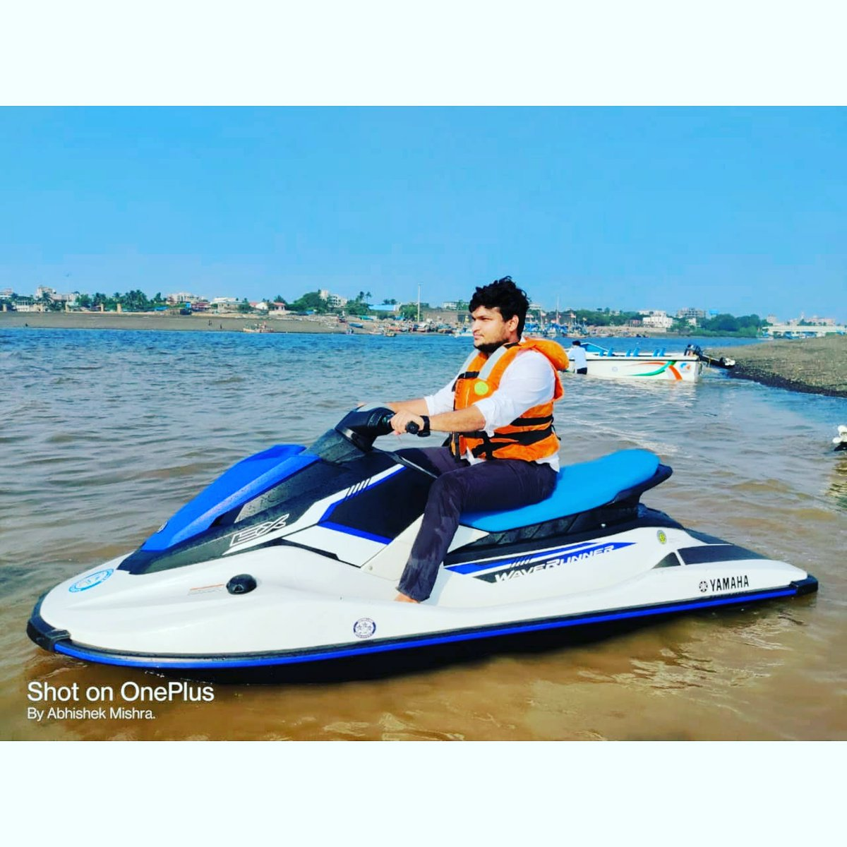 Let the good times roll💀 #yamahajetski #jetski #aquabike #vacation #damananddiu #abhishekpetermishra https://t.co/sH41qbobnc